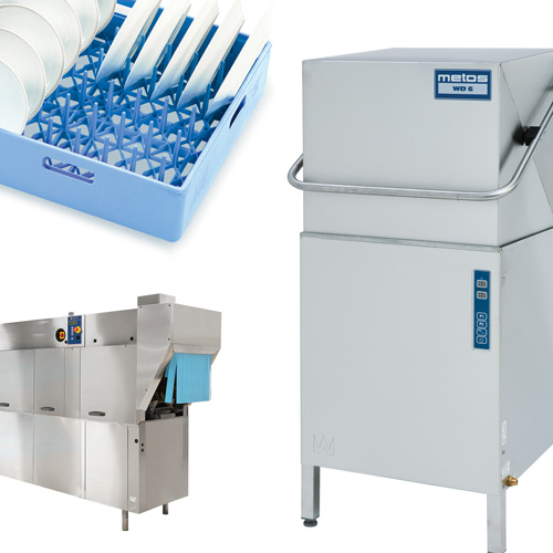 Dishwashers and waste handling