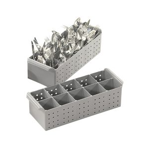 Dishwashing tray for cutlery