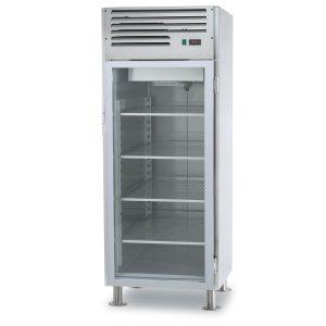 Refrigerators with glass door